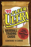 1992 Fleer Ultra Series 1 Baseball Card Pack