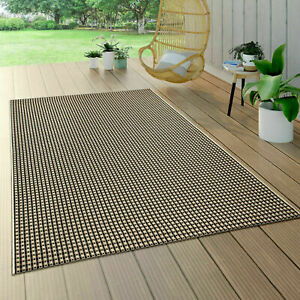 Braided Outdoor Rugs Sisal Style Beige Solid Rug Kitchen Patio Terrace Flat Mats