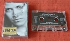 SHERYL CROW - UK CHROME CASSETTE TAPE - THE GLOBE SESSIONS