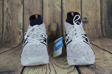 Asics Gel Kayano Trainer Knit MT Shoes White Navy Red Speckle HN707-0101 SZ 10.5