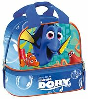 Disney Pixar Finding Dory Ocean School Lunch Bag  Blue