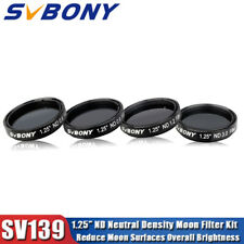 "SV139 1.25"" ND(4/8/16/1000)Neutral Density Moon Filter Kits Reduce Moon Brightne"