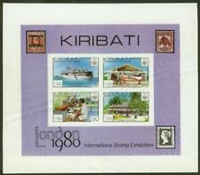 Kiribati 1980 London Stamp Exhibition SS PROOF