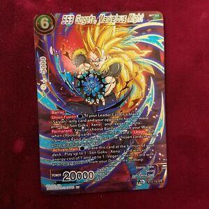 Dragon Ball Super SS3 GOGETA, MARVELOUS MIGHT BR12-136 MINT~DBZ JU07