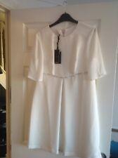 Ted Baker Ladies Cream Dress Size 3