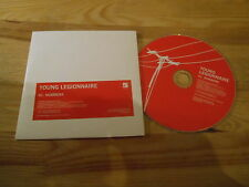 CD Indie Young Legionnaire - Numbers (1 Song) Promo WICHITA cb