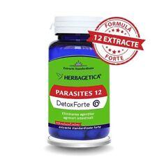 Detoxic Parasites Detox stark Tötet parasiten Vegan 30stk Behandlung für 1 Monat