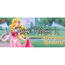Disney Sleeping Beauty Personalised Bedroom Door Sign - Any Text (1)