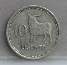 Lesotho - 10 Lisente 1979 - KM# 19