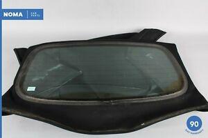 97-02 Jaguar XK8 XKR X100 Conv Rear Windshield Windscreen Window Glass OEM
