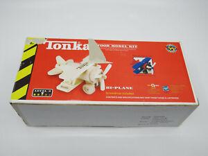 Tonka Wood Model VHC-PLN 104954-02 Bi-Plane Hasbro Toy Quest New 55 Anniversary