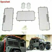 For Traxxas TRX4 Defender 1/10 RC Car Crawler Stainless Windows Guards RC Part