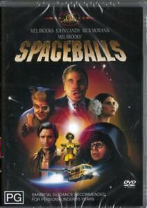 SPACEBALLS - MEL BROOKS - REGION 4 NEW & SEALED DVD - FREE LOCAL POST