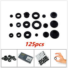 125PCS Rubber Grommet Kit Assortment Firewall Hole Plug Wire Ring Gasket Plastic