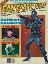 Dec 1978 Fantastic Films Magazine -Star Trek,Outer Limits & Battlestar Galactica
