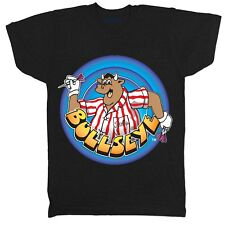 BULLSEYE GAMESHOW RETRO CARTOON 80S 90S GAME CULT CLASSIC TV FILM MOVIE T SHIRT
