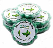 6 x Eucalyptus and Peppermint Scented Wax Tart Melts