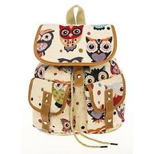 Traditional Tapestry Owl Rucksack Bag 64900