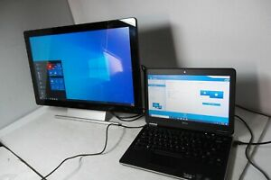 """Dell Latitude E7240 Intel Core i7 8GB 256GB SSD Wi-Fi w/23"""" Monitor Touch P2314T"""