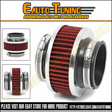 "2.75"" 70mm Cold Air Intake Universal ByPass Valve Filter RED CRY"