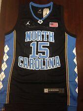 New Vince Carter North Carolina Tar Heels Jersey Black Mens Small S UNC Raptors