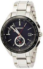 Seiko Brightz Watch Solar Radio Dual Time Titanium Model SAGA241 Men's