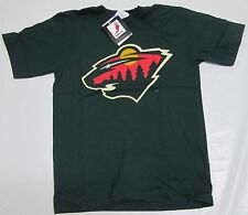 Minnesota Wild Majestic Youth T-Shirt Medium Gaborik 100% Cotton NHL Hockey