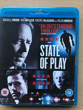 Russell Crowe Ben Affleck STATE OF PLAY 2009 Conspiracy Thriller UK Blu-ray