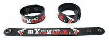 My Chemical Romance NEW! Rubber Bracelet Wristband Famous Last Words aa242