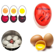 KCASA KC-008 1pc Egg Perfect Color Changing Timer Yummy Soft Hard Boiled Eggs Co