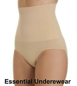 SEAMLESS HIGH WAISTED FIRM CONTROL TUMMY & BUM SLIMMING KNICKERS BEAUFORME S-XXL
