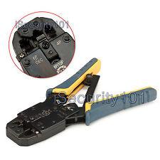 NEW RJ45 11 12 Cat5 Cat6 Ethernet Network LAN Cable Plug Crimper Crimp Tool /E1