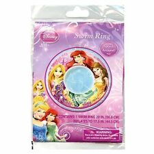 "Disney Princess Inflatable Swim Ring - 20"" - New"
