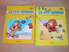 LOT 2 BD LE PETIT SPIROU / FORMAT 13x18 DE VOYAGE / NEUVES SOUS CELLO