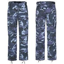 US RANGER Pantaloni 22 Farben xs-7xl, ESERCITO pantaloni-cargo da campo lavoro