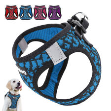 Reflective Pet Dog Step-In Harness Soft Mesh Walking Vest for Small Puppy Cats