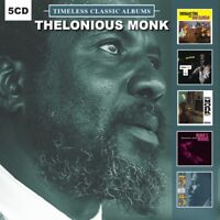 Thelonious Monk - 5 Timeless Classic Albums - (5 CD) NEW & SEALED