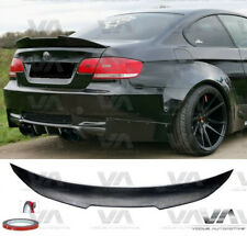 BMW 3 SERIES E92 M3 PSM STYLE REAL CARBON FIBER BOOT TRUNK LIP SPOILER
