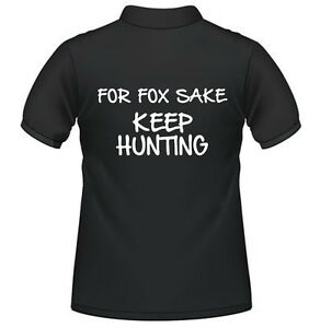 Farming Tractor Polo Shirt Slogan Fendt Massey Case New Holland - FOR FOX SAKE
