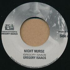 "Gregory Isaacs - Night Nurse 7"" lp - Reggae Dancehall Roots Classic Anthem NEW"