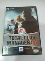 Total Club Manager 06 EA SPORTS - Set para PC Cd-rom Edition Spain - 2T