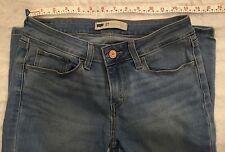 Women's Levis Skinny Light Blue Jeans Sz 27