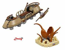 Lego Star Wars - Desert Skiff and Sarlacc Pit from set 75174 -  NO MINIFIGURES*