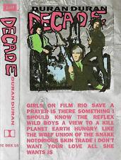 Duran Duran Decade CASSETTE ALBUM Electronic New Wave Synth-pop