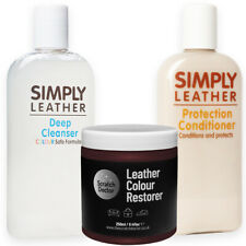 BORDEAUX Leather Cleaner, Conditioner & Restorer for Sofa, Bags, Shoes, Jackets