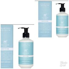 CRABTREE & Evelyn Goatmilk & Oat Soothing Body Lotion 250ml X2