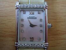 No Reserve Reloj Vintage Michel Herbelin PARIS empedrado Modelo 1706833