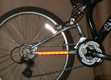 6 X High Visibility Reflective Chevron Bike Safety Stickers