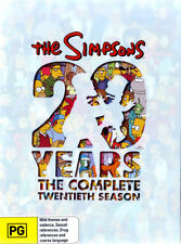The Simpsons: Season 20 ( 20 Years)  - DVD - NEW Region 4