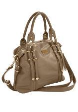 C.M. Schöne Damen handtasche/Schultertasche von Masquenada, sand, camel